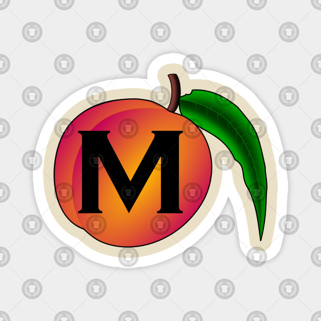 M Peach Impeach Political Satire Impeach Magnet Teepublic