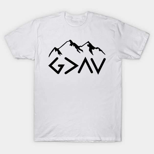 God Is Greater Than The Highs And Lows Christian Design