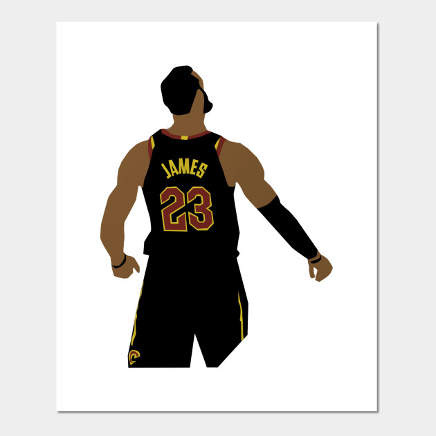 ab0b6cd054a7 LeBron James Game Winner - Lebron James - Posters and Art Prints ...