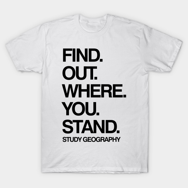 e3058606 Study Geography Funny School Subject Black Text - Geography - T ...