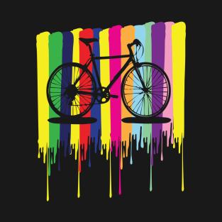 rainbow bicycle