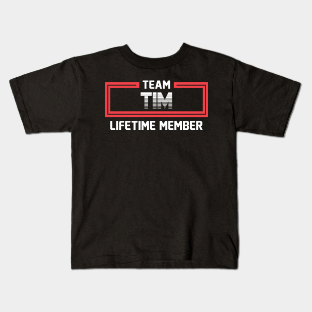 Team Tim Lifetime Member | Tim FirstName | Tim Family Name | Tim Surname | Tim Name