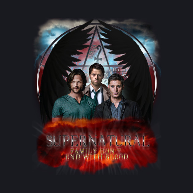 Supernatural Family Dont end with blood C9