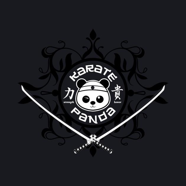 Karate Panda Laurel logo