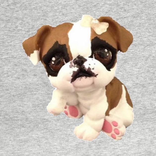 English Bulldog Lps Littlest Pet Shop Kids Long Sleeve T Shirt