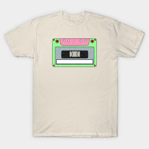TeePublic - 'Cassette Tape Name Tag'