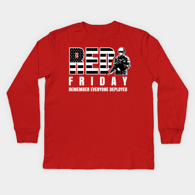 62b05ceee ... red friday military shirts remember everyone deployed red friday;  remember everyone deployed t shirt ...