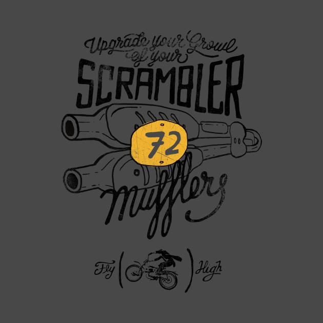 Scrambler Mufflers