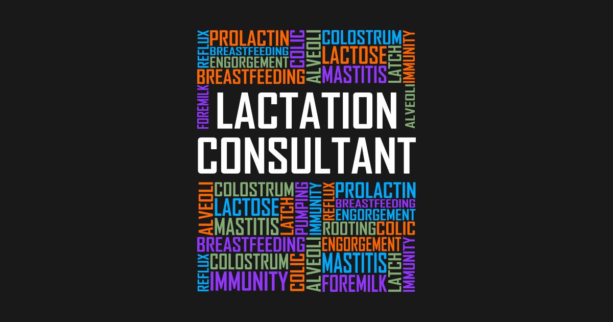 Lactation Consultant Words - Lactation Consultant - Tank ...