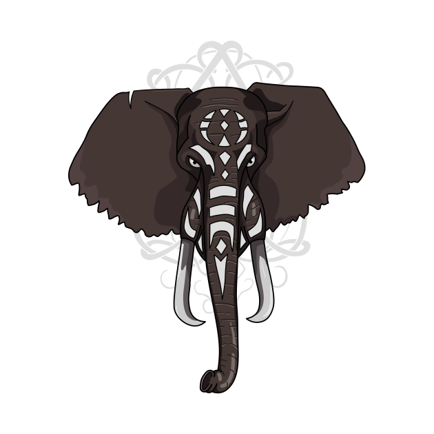 Elephant War Paint