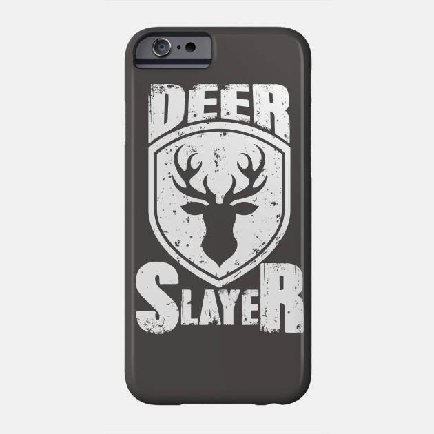 df2e6475f2fa21 Deer Slayer Hunting Lovers Hunter Top Deer Killer Buck Slayer Bow Lover  shirts Short-Sleeve Unisex T-Shirt Phone Case