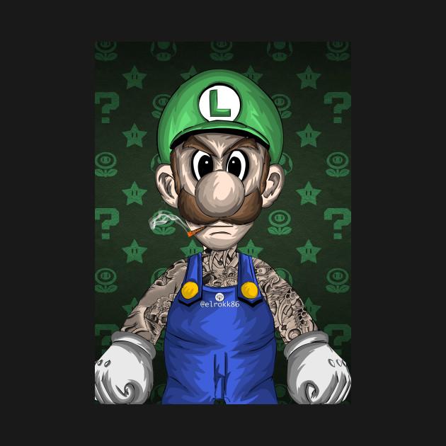 Tattooed Luigi