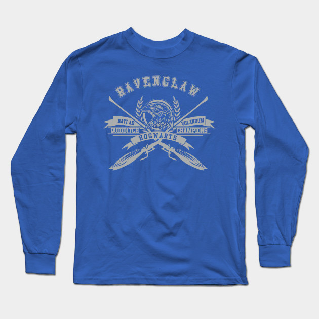 3c114bab770 Ravenclaw Quidditch - Harry Potter - Long Sleeve T-Shirt | TeePublic