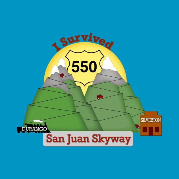I Survived HWY 550 Durango to Silverton