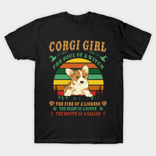 I Love Heart My Corgi Ladies T-Shirt