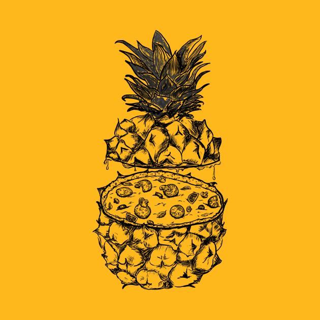 Pizza & Pineapple