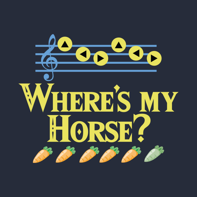 Where's My Horse?