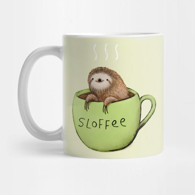 Sloffee Sloth Mug Teepublic
