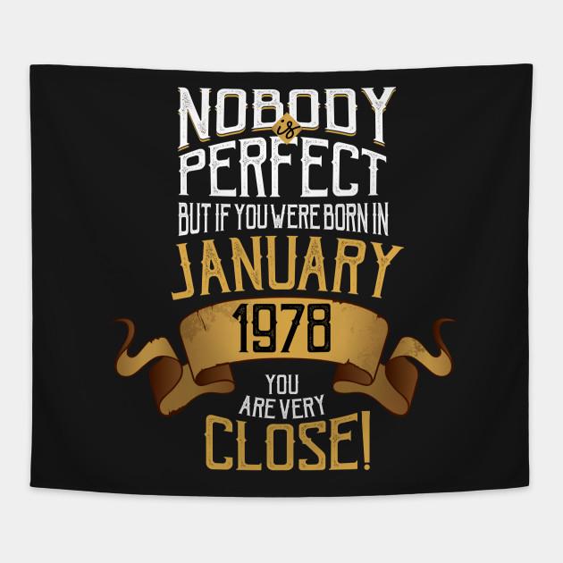 January 1978 Birthday Gift
