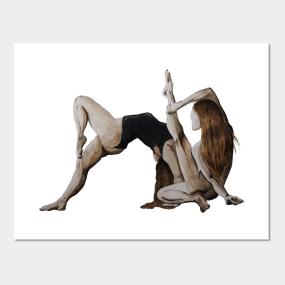 Yoga Posters and Art Prints | TeePublic UK
