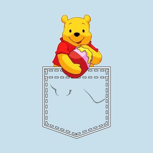 Winnie the Pooh in My Pocket t-shirts