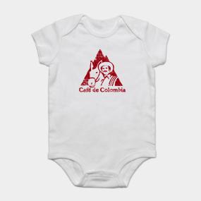 ab4c3865761 Cafe de Colombia - grunge design Onesie