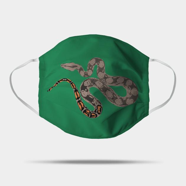 Boa Constrictor Snake Mask Teepublic