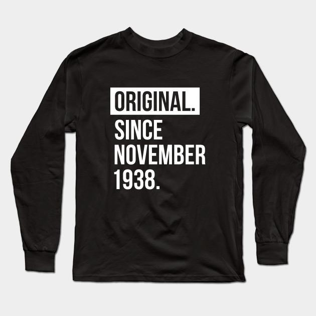 1938 November 80 Years Old Birthday