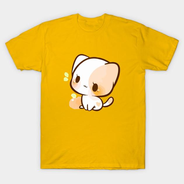 A Chibi Cat Cute Chibi Cat T Shirt Teepublic