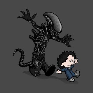 Ripley & Alien t-shirts