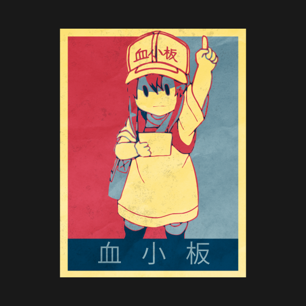 Platelet - Cells At Work Poltical | Anime Shirt