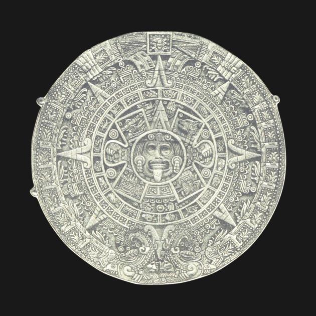 Aztec Calendar Stone Aztec T Shirt Teepublic