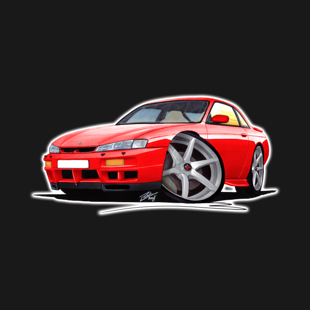 Nissan 200SX S14 Red