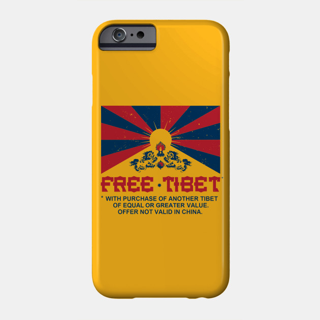 FREE TIBET * WITH PURCHASE OF ANOTHER TIBET - Dalai Lama - Phone ...
