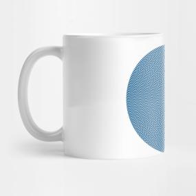 Psychedelic Spiral in Blue... Mug