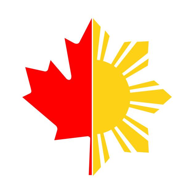 Filipino Canadian - Filipino Canadian - T-Shirt   TeePublic