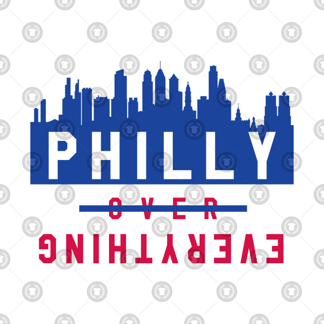 Philly over Everything - White/Blue