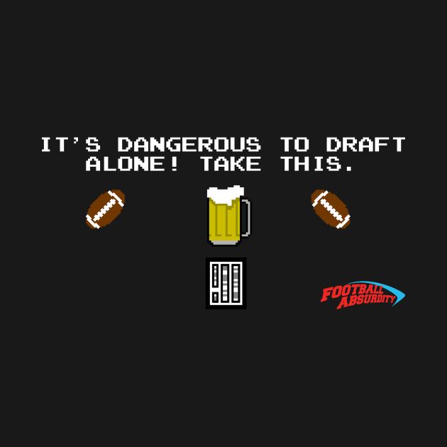 Beersheets with Football Absurdity Logo