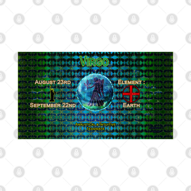 Zo-Disc Virgo with background v1