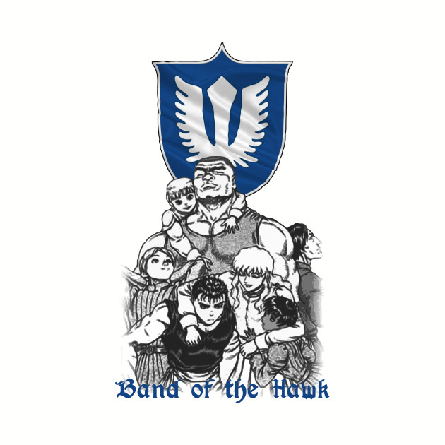 The Band of Hawk from Berserk