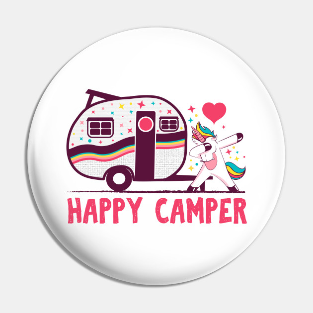 Happy camper camping T-shirt