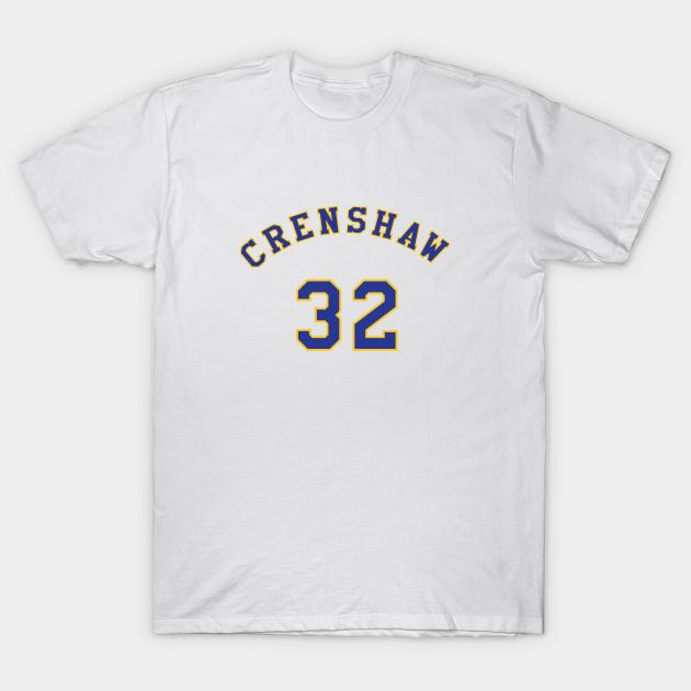 Monica Wright 32 Crenshaw High School Basketball Shirt - Crenshaw ... f6185248ab