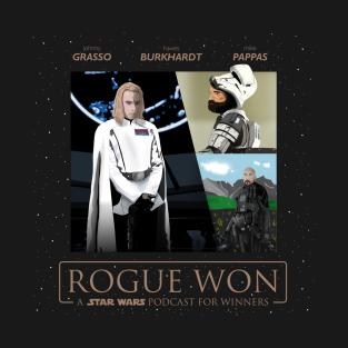 Rogue Won Poster t-shirts