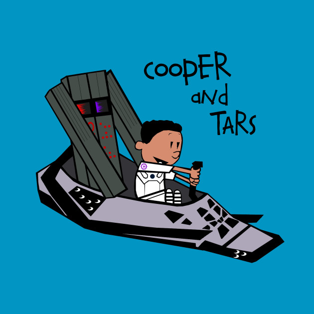 Cooper and TARS