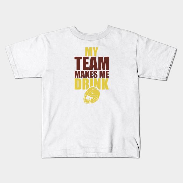 NFL Washington Redskins Rams Drink - Nfl - Kids T-Shirt  6c8547759