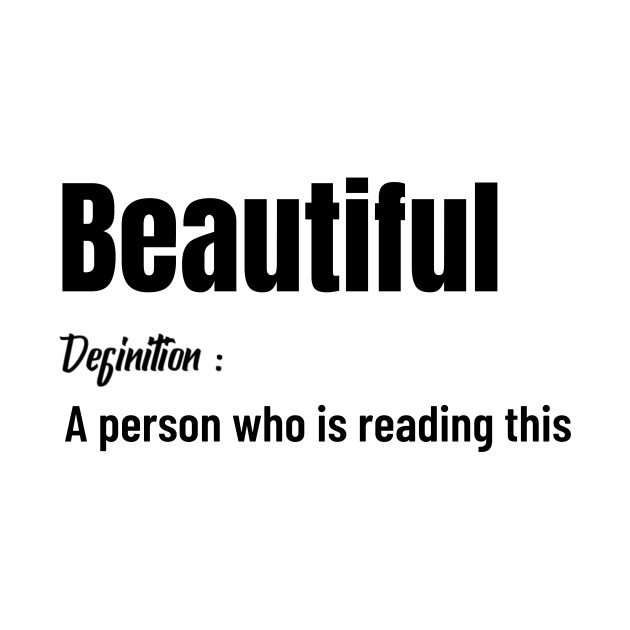 Beautiful is you