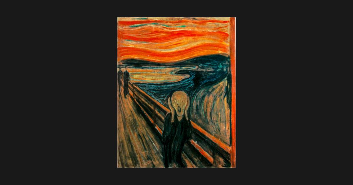 The Scream 1893 by Edvard Munch - Scream - Tank Top