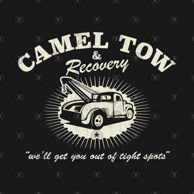 ee2a4d7f2 Camel Tow & Recovery shirt - Camel Towing Mens Funny Tow Service Toe ...
