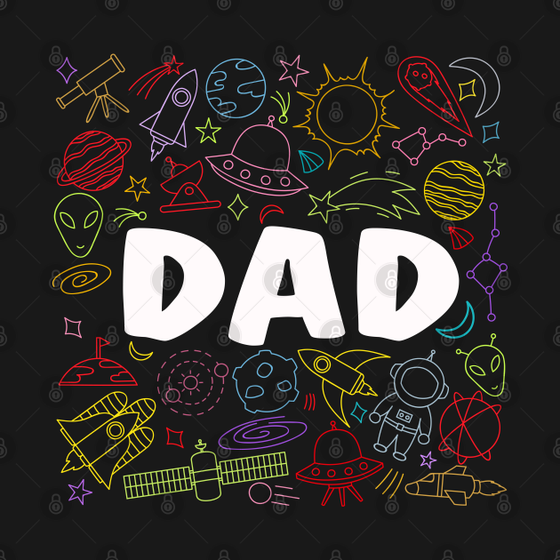 Dad Outer Space Birthday Party