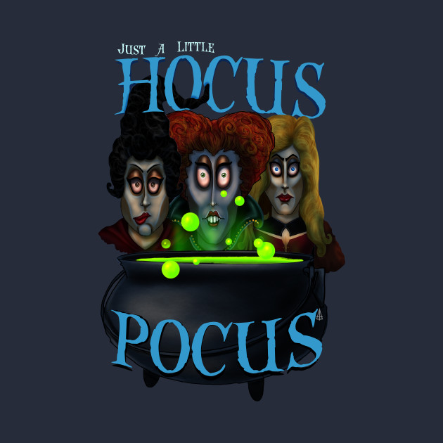 Just a Little Hocus Pocus by Topher Adam 2017